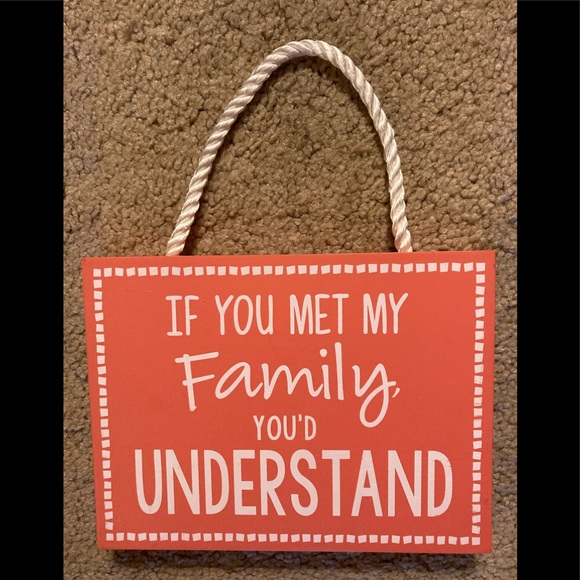 Malden Other - Family sign
